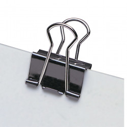 FOLDBACK CLIPS 41mm MARBIG BOX 12