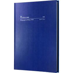 DIARY A4 WTO BLUE KINGSGROVE COLLINS