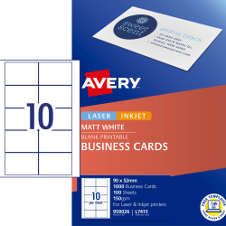BUSINESS CARD L7415 SINGLE SHT