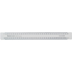 RULE SCALE STAEDTLER ACADEMY 961 80-1AS