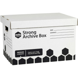 ARCHIVE BOX MARBIG STRONG 80024