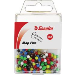 ESSELTE ASS MAP PINS PK50 45108