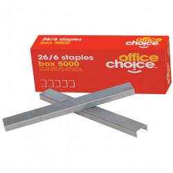 STAPLES 26/6 BX5000 OFFICE CHOICE