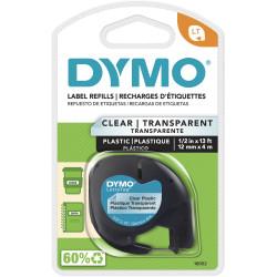 DYMO LETRATAG CLEAR 12x4M
