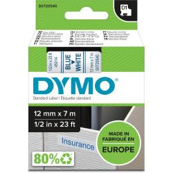 DYMO TAPE 12MM X 7M 345014 BLUE/WH
