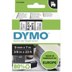 DYMO TAPE 9MM X 7M 340913 BK/WH