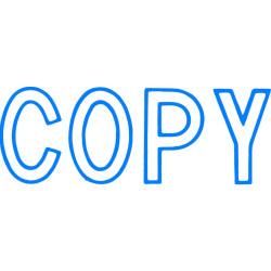XSTAMPER COPY BLUE 1006