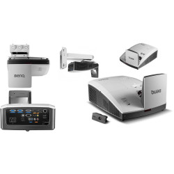 BENQ MH856UST PROJECTOR BUNDLE Ultra Short Throw, HD With Interactive Kits