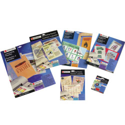 REXEL LAMINATING POUCHES A4 2 x 75 Micron Pack of 100