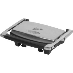 NERO SANDWICH PRESS 2 Slice Stainless Steel