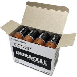 DURACELL COPPERTOP BATTERY C Bulk Pack Pack of 12