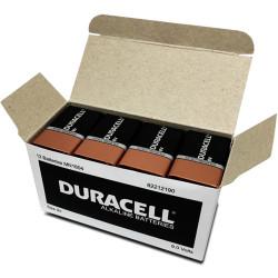 BATTERY 9 VOLT DURACELL BOX12