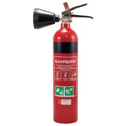 EXELGARD CO2 EXTINGUISHER Co2 Fire Extinguisher 2kg