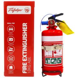 EXELGARD CO2 EXTINGUISHER 1Kg Abe Fire Ext + Bracket