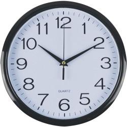Italplast Wall Clock Black Trim
